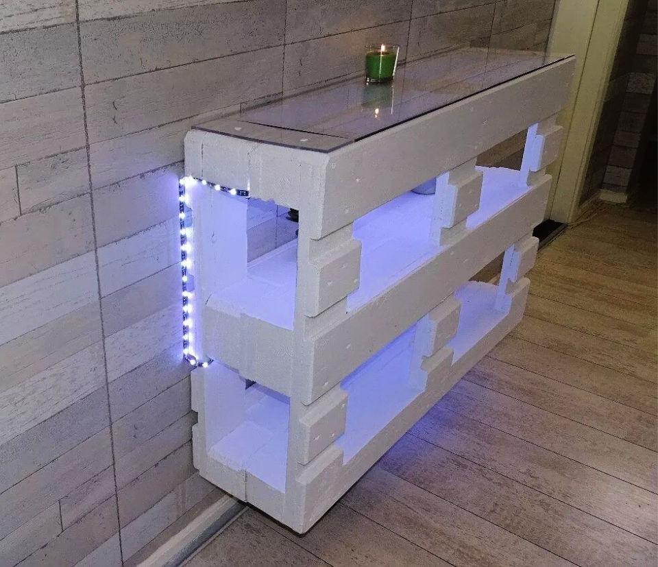 DIY XXL Pallet Shelf
