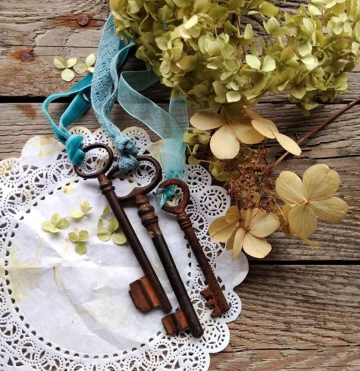 Decorative Old Keys