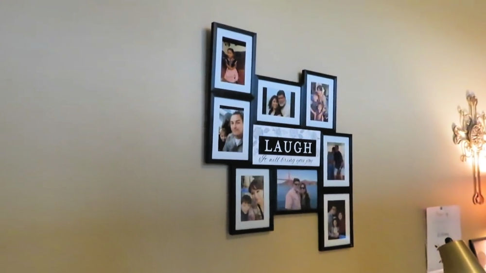 Dollar Tree Family Picture Collage