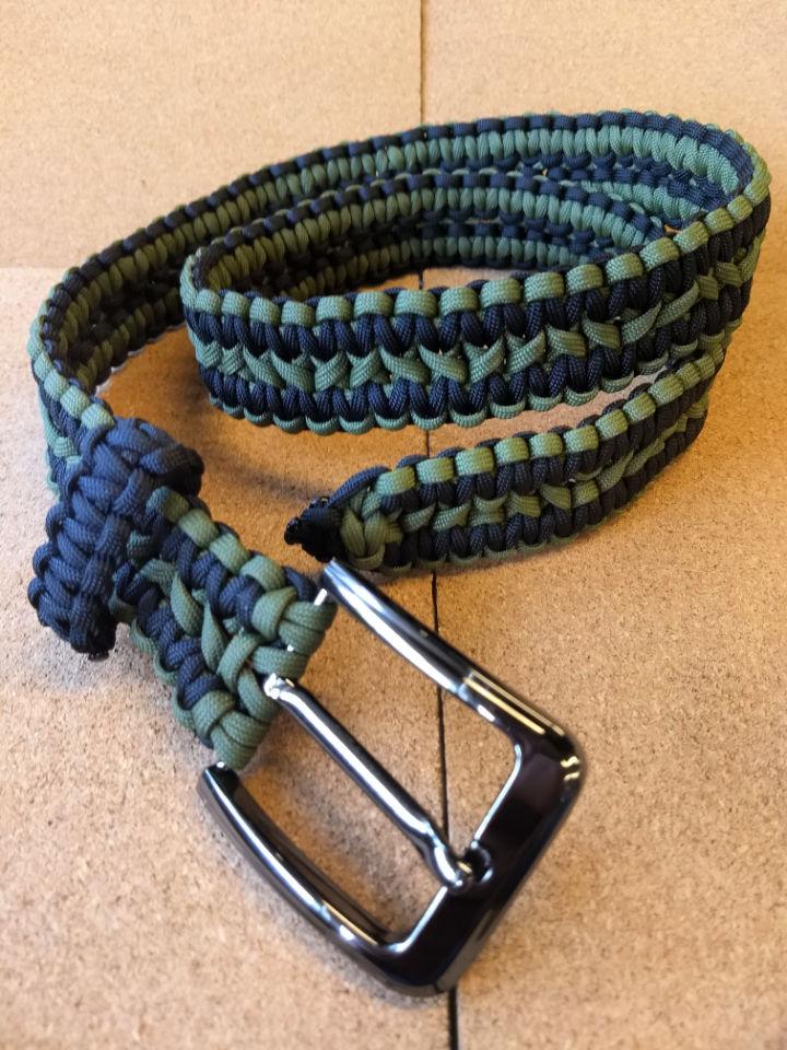Double Cobra Paracord Belt