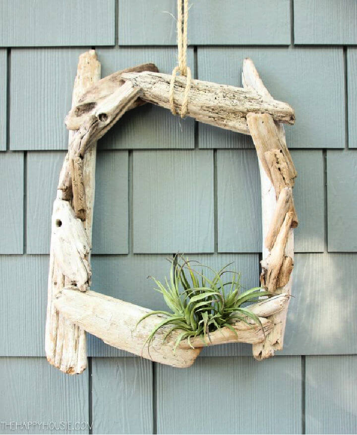 Driftwood Wreath with Air Plants