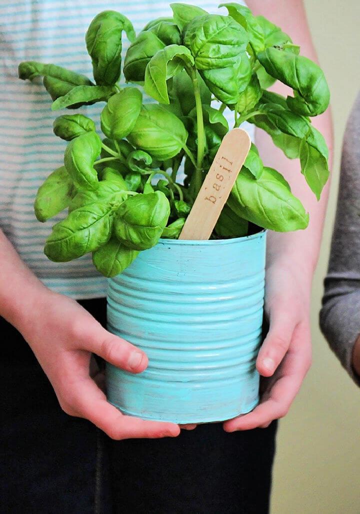 Easy to Make Indoor Herb Garden