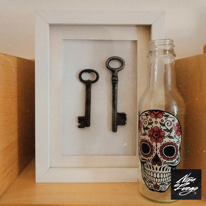 Framed Keys Wall Art