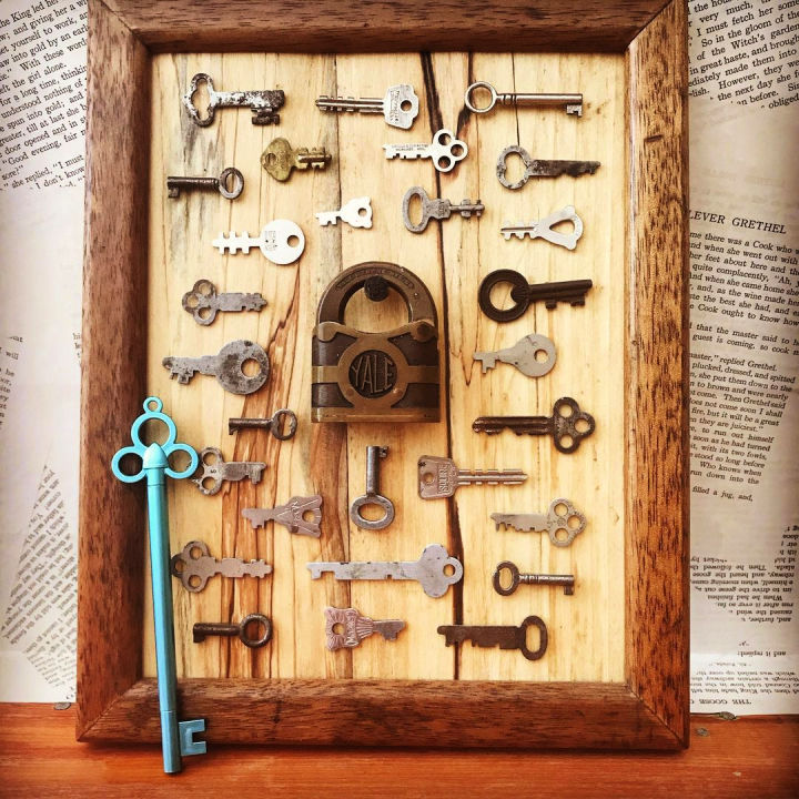 Framed Skeleton Keys