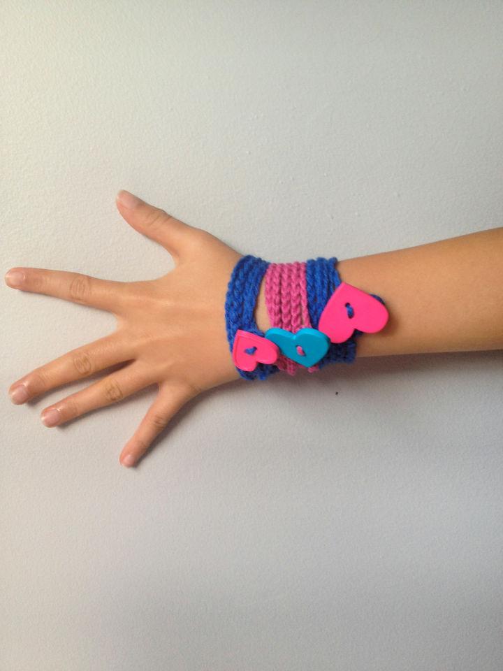 Free Crochet Friendship Bracelet Pattern