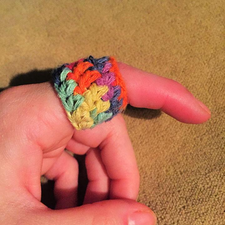 Free Crochet Tension Ring Pattern