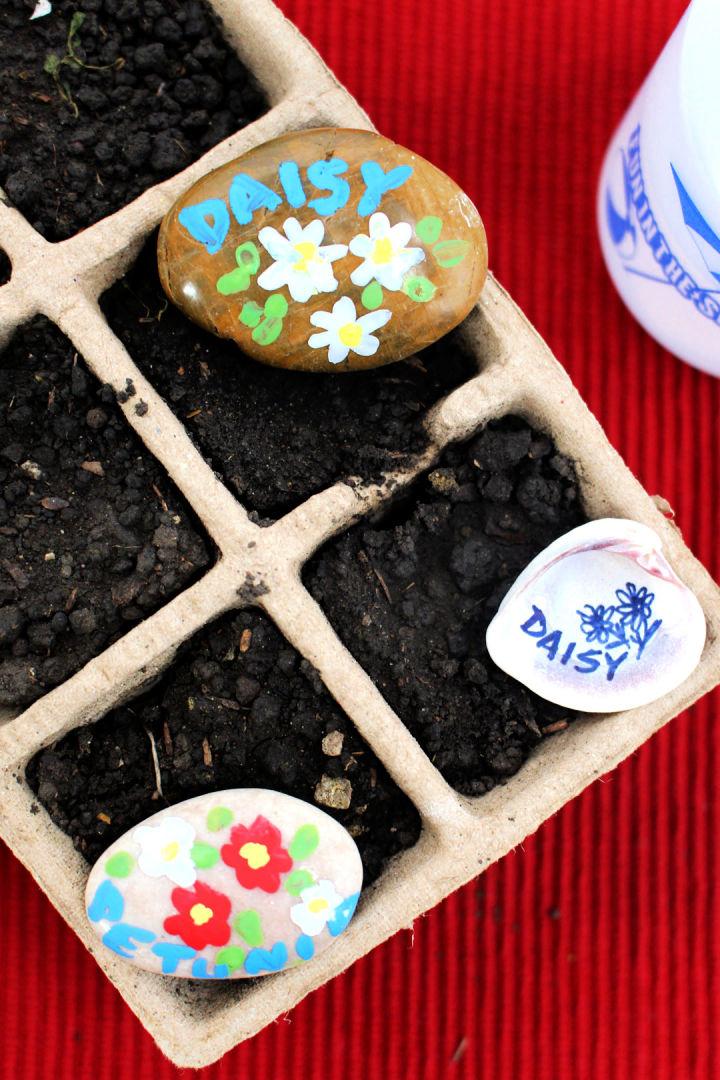 Garden Plants Label for Kids