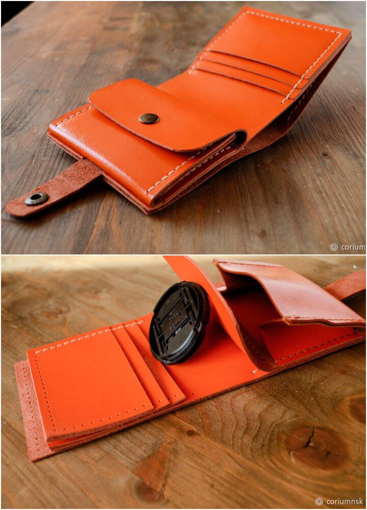Genuine Leather Wallet Tutorial