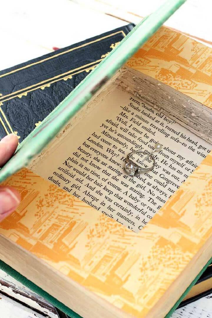 Gift Box Vintage Book