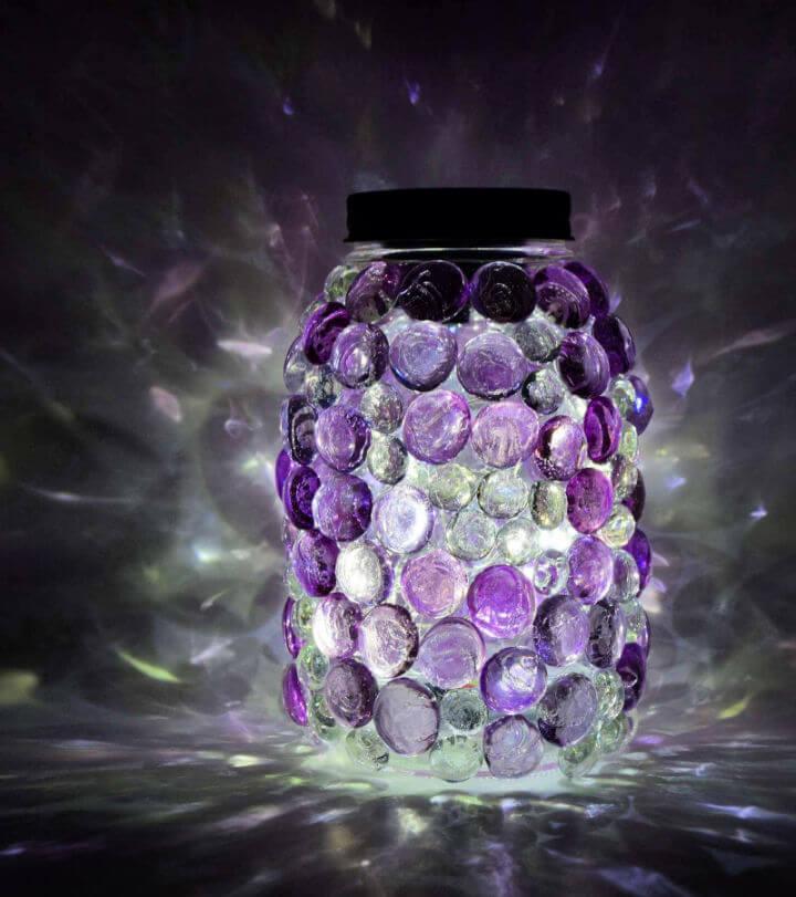 Glittering Gem Mason Jars Lights 1