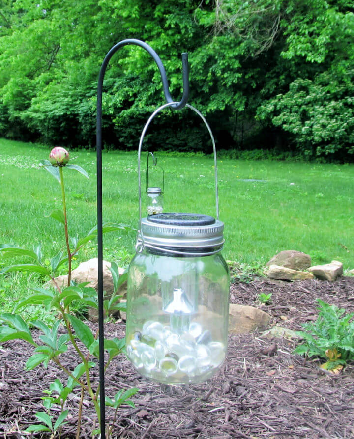 Hanging Solar Mason Jar Lights