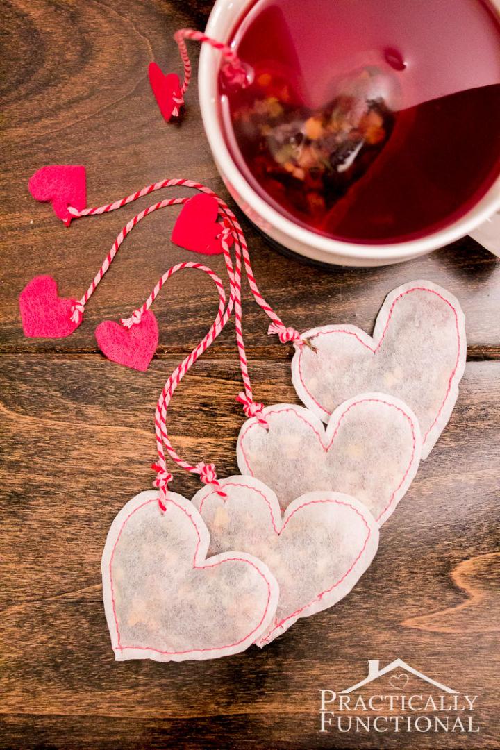 Heart Shaped Tea Bags