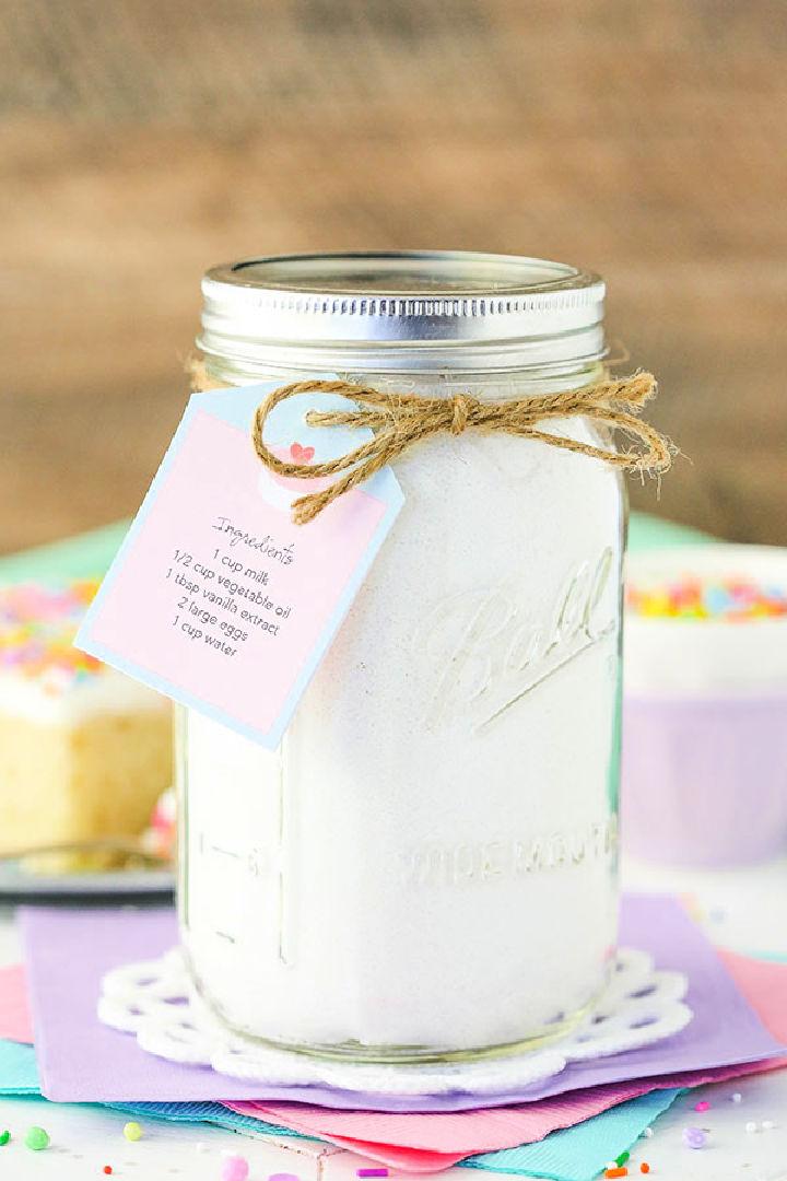Homemade Vanilla Cake Mix