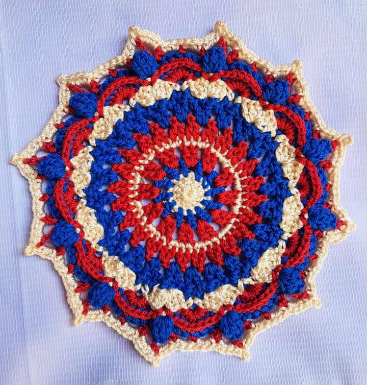 How to Crochet Doily