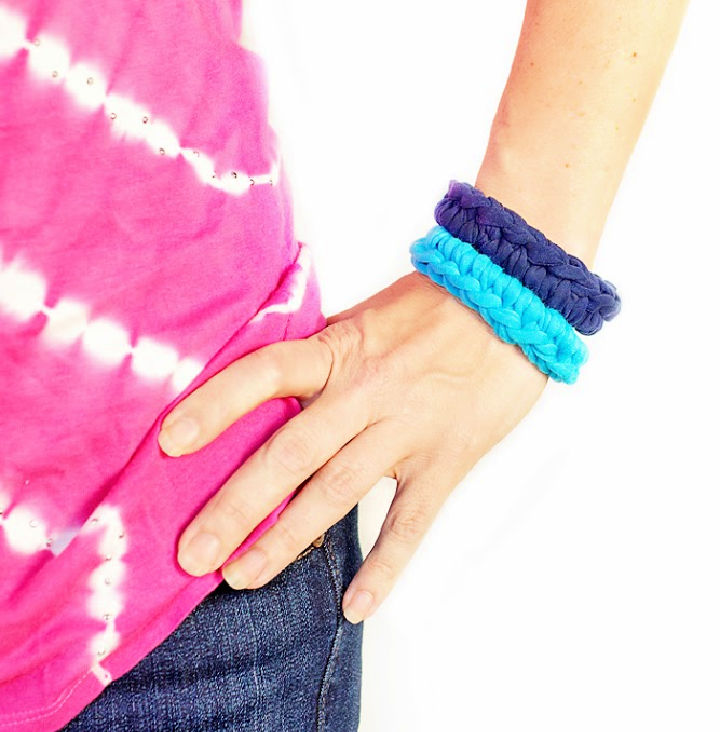 How to Crocheted Bracelet