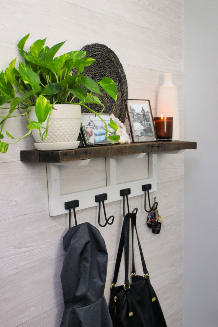 How to Install Entryway Shelf