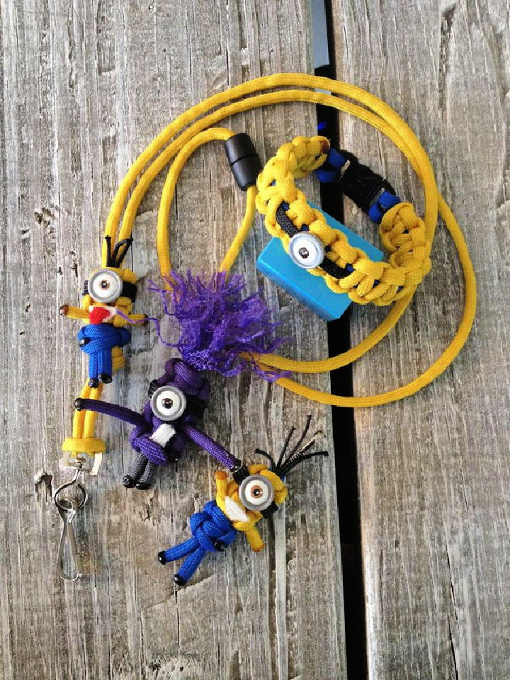 How to Make a Paracord Minion
