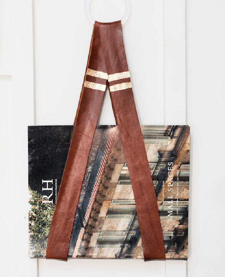 Leather Book Holder