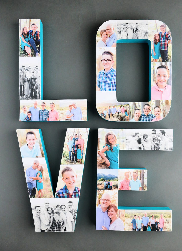 Letters Photo Collage