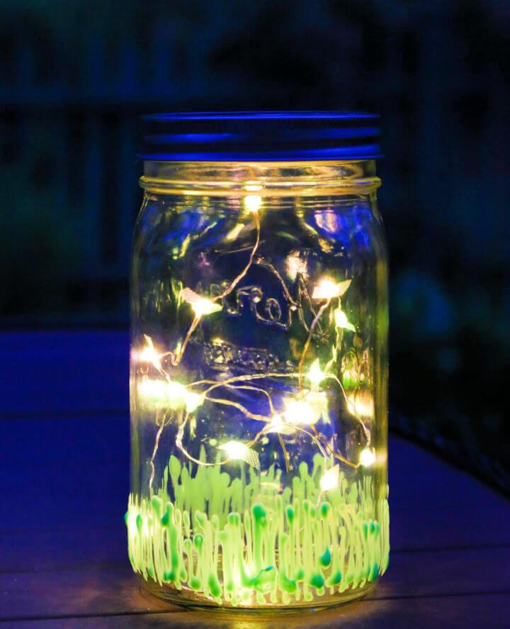Light Up the Night with Firefly Mason Jar 1