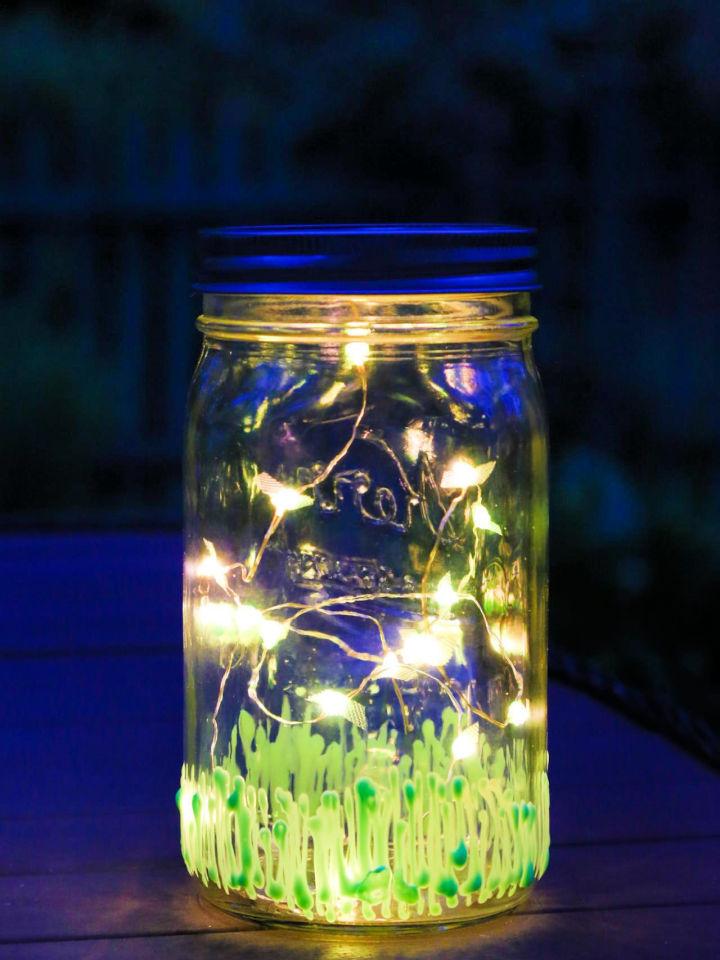 Light Up the Night with Firefly Mason Jar 2