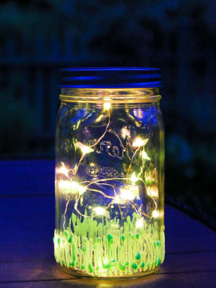 Light Up the Night with Firefly Mason Jar