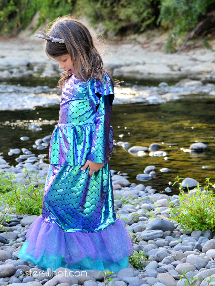 Little Girl Mermaids Costume