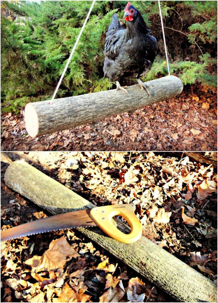 Log Swing for Run