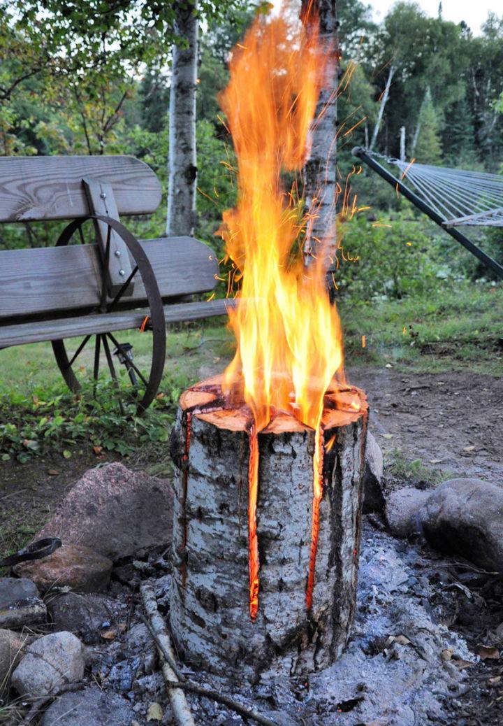 Long burning Bonfire Log