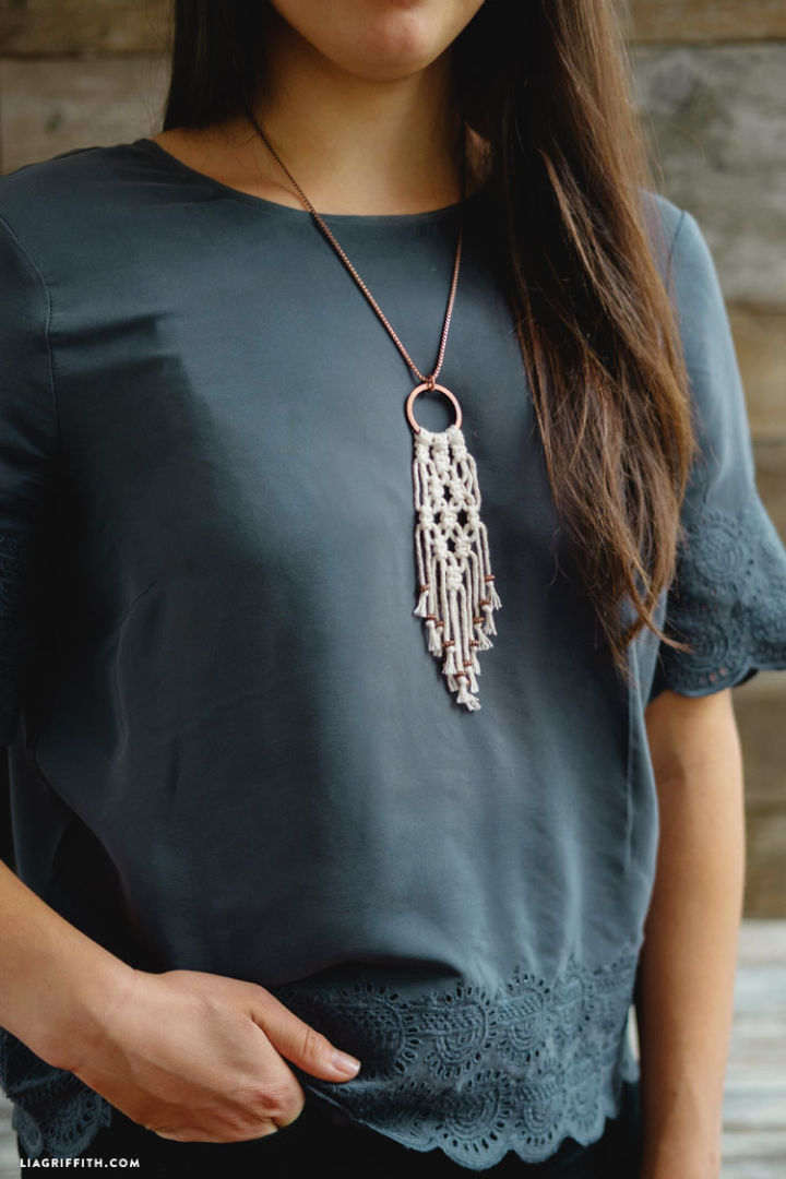 Macrame Necklaces Patterns
