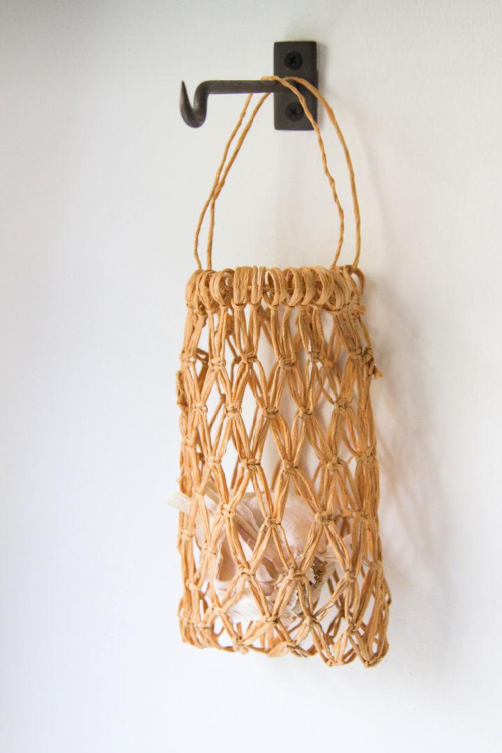 Macrame Patterns Hanging Basket