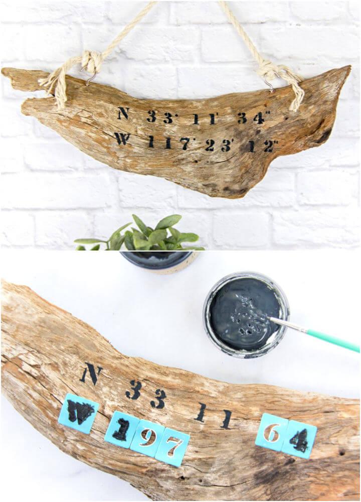 Make a Driftwood Sign