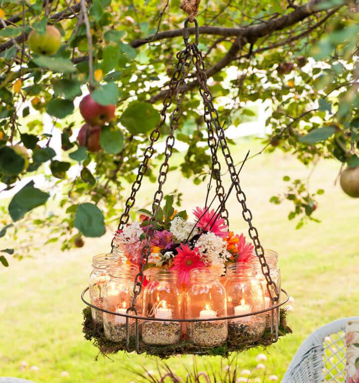 Make a Garden Chandelier