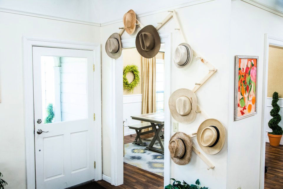 Make a Hat Rack
