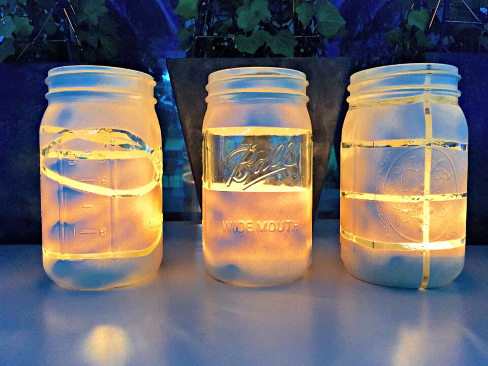 Make a Mason Jar Lanterns