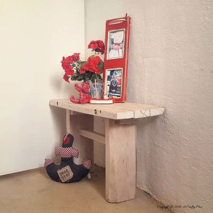 Making a Pallet Side Table