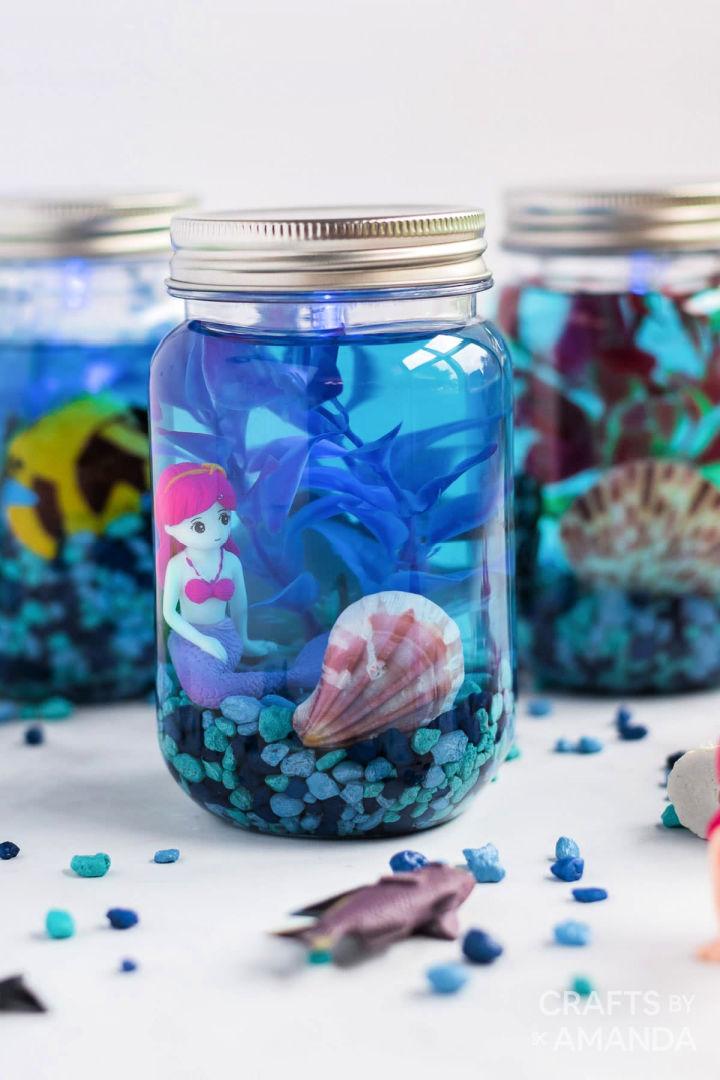 Mason Jar Aquarium
