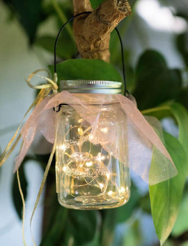 Mason Jar Fairy Lights 1