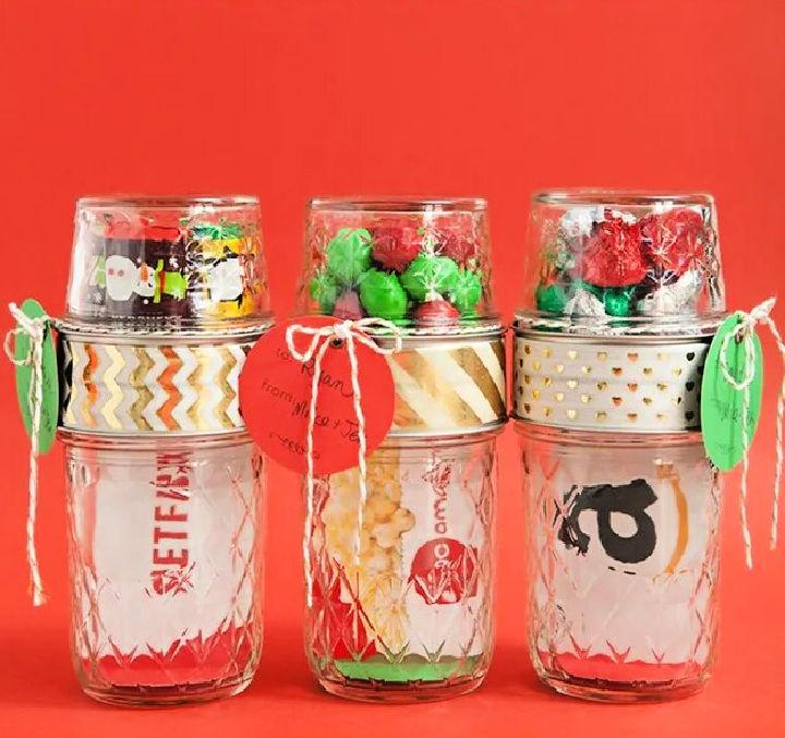 Mason Jar Gift Card and Candy Holder
