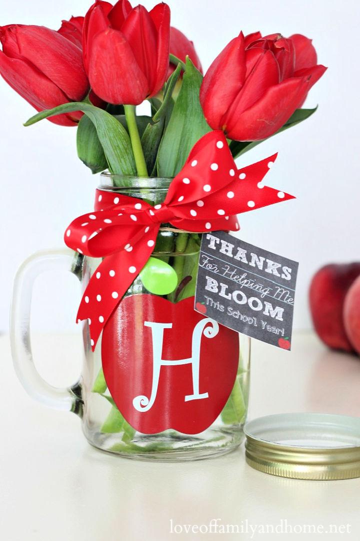 Mason Jar Gift for Teachers
