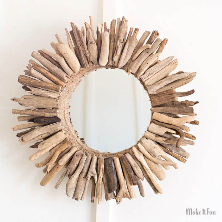 Mirror from Driftwood