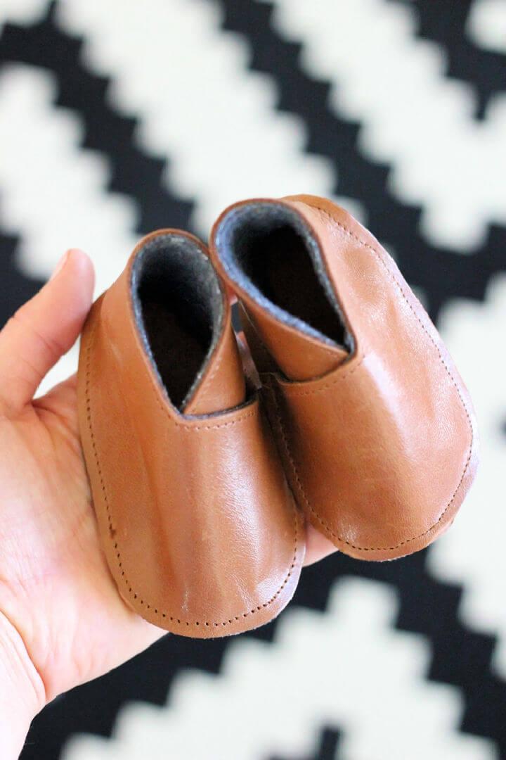 Modern DIY Leather Baby Boy Boots