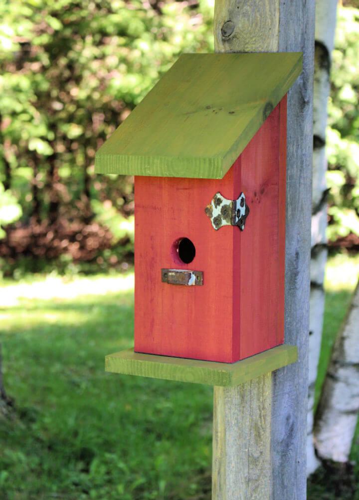Nail Less Birdhouse