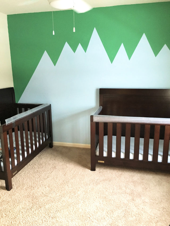 Nursery Painting Accent Wall