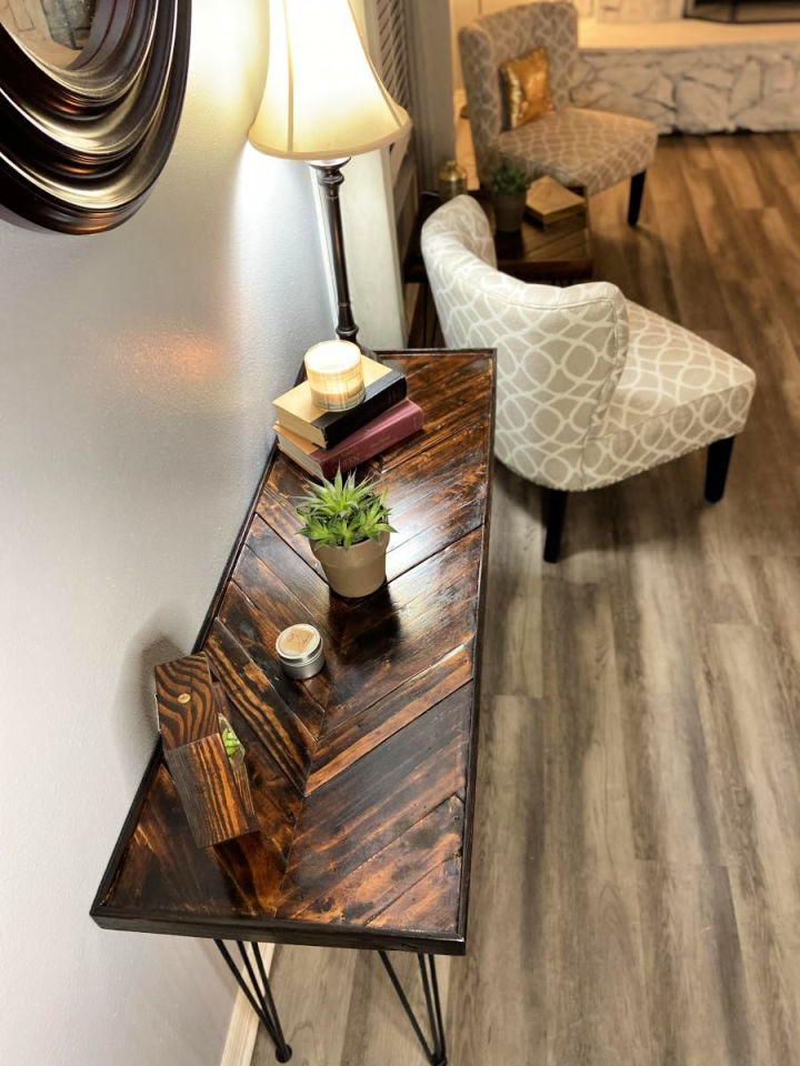 Pallet Wood Side and Console Table