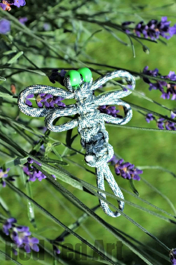 Paracord Dragonfly for Kids
