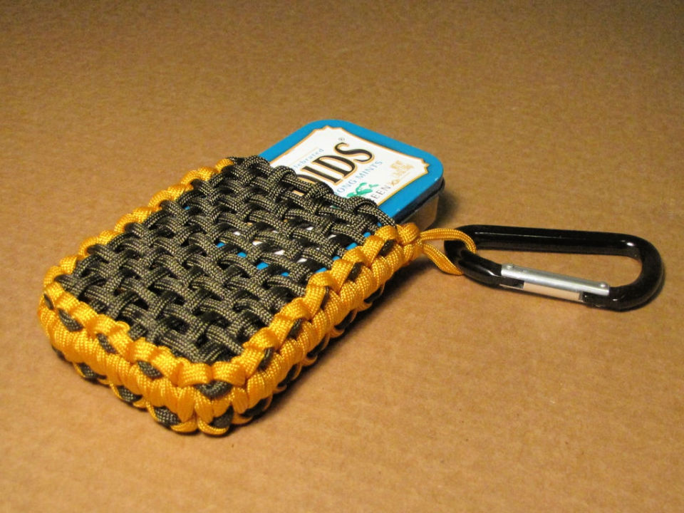 Paracord Pouch for Survival Tins