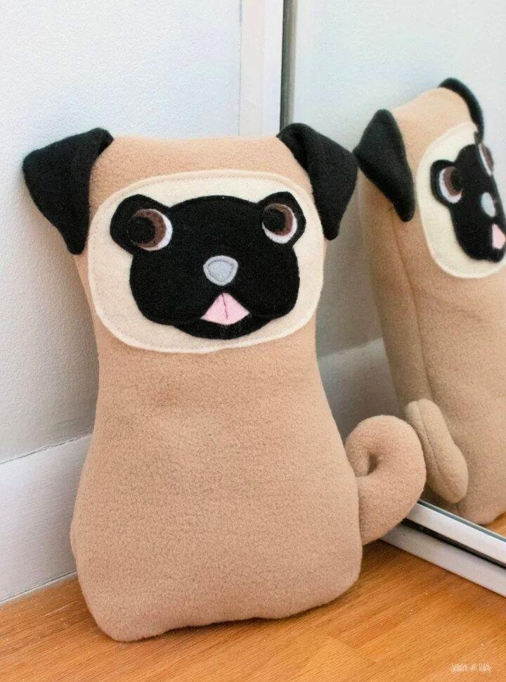 Plush Pug Sewing Pattern