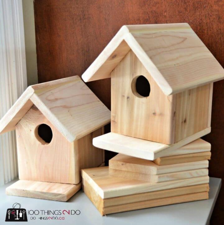 Quickly DIY Birdhouse