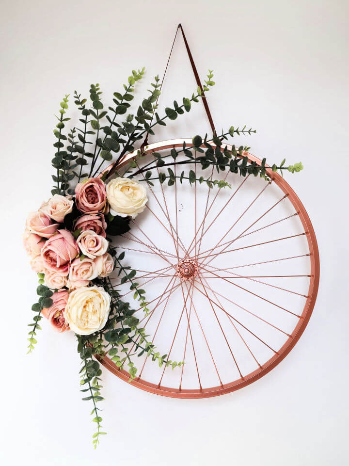 Repurpose And Recycle An Old Bike Wheel